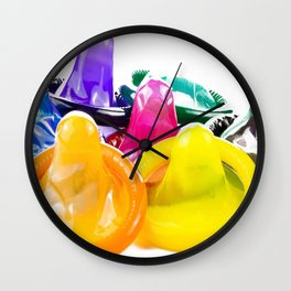CONDOMS Wall Clock