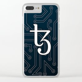 Tezos Clear iPhone Case