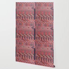 V21 New Traditional Moroccan Design Carpet Mock up. Wallpaper