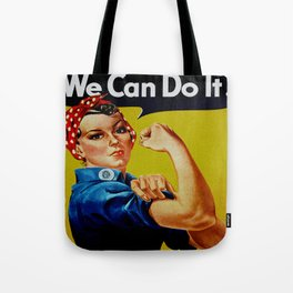We Can Do It - WWII Poster Tote Bag