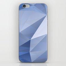 blue crystal iPhone & iPod Skin