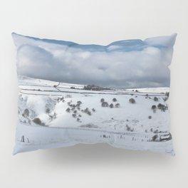 Snow in the peak district Pillow Sham