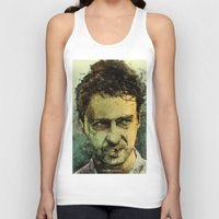 watch Tank Tops featuring Schizo - Edward Norton by Fresh Doodle - JP Valderrama