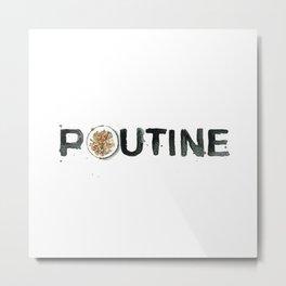 Favourite Things - Poutine Metal Print