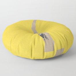 Torn Around - Path Floor Pillow