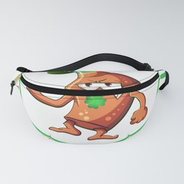 Saint Patrick's Day Pinch Me and I'll Punch You Fanny Pack