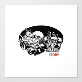 Pal-run Canvas Print