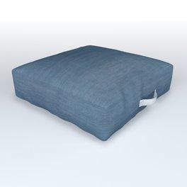 WASHED BLUE DENIM . SOLID Outdoor Floor Cushion