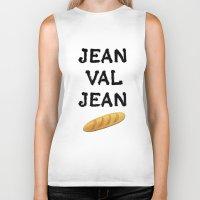 cassandra jean Biker Tanks featuring jean val jean by Bread Sports
