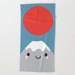 Mt Fuji Beach Towel