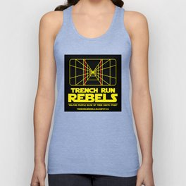 Trench Run Rebels Unisex Tank Top