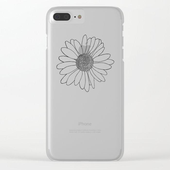 Daisy Clear iPhone Case