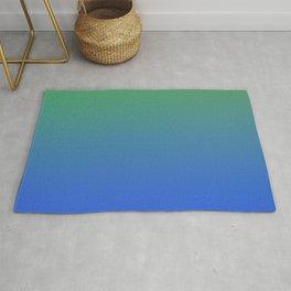 RESTING STATE - Minimal Plain Soft Mood Color Blend Prints Rug