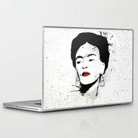 frida Laptop & iPad Skins featuring Frida by Cynthia Alvarez