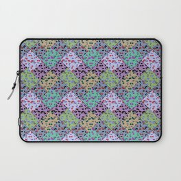 rustic patchwork , fashionable Laptop Sleeve