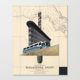 Malaspina Inlet Canvas Print