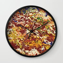 Wave Boogie-Woogie Wall Clock