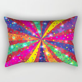 Colorful light Rectangular Pillow