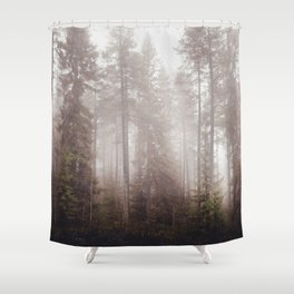 A fogilicious morning Shower Curtain
