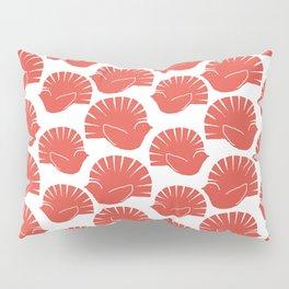 Block Cut Retro NZ Fantail Pattern Pillow Sham