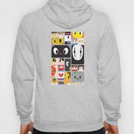 World of Ghibli Blocks Hoody
