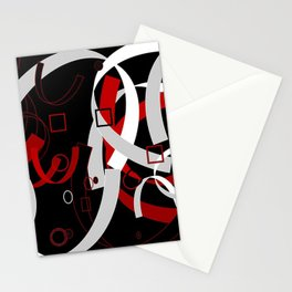 Simple Abstract Stationery Cards