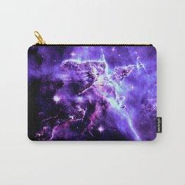 Vibrant Violet nebUla. Carry-All Pouch