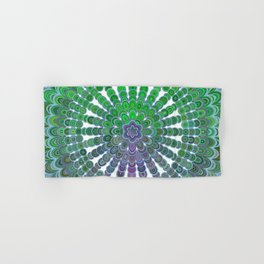 Spring Mandala Wheel Hand & Bath Towel