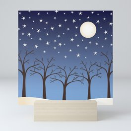 Silent Night Mini Art Print