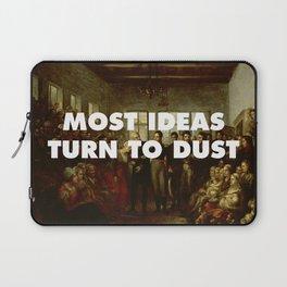 Moat Ideas Turn to Dust Laptop Sleeve