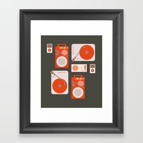 Music Lover Framed Art Print