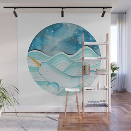 The Gnarly Narwhal Wall Mural