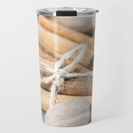 nutmeg and cinnamon Travel Mug