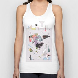 Cover for an imaginary magazine Unisex Tank Top