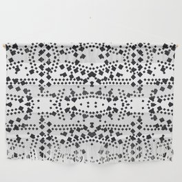 black square elements Wall Hanging