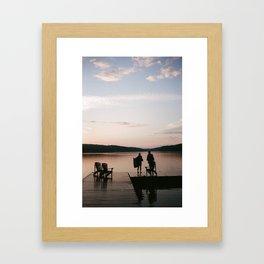 Summer's Edge Framed Art Print