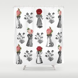 The Dreams of Flowers | The Tables Have Turned Shower Curtain