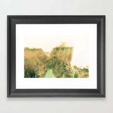 but darling, you mustn't go on without me... Framed Art Print