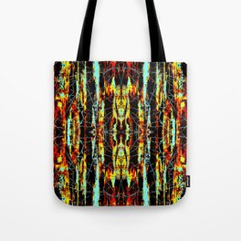 Colorful Indian Pattern Tote Bag