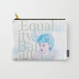 Equality & Balance Carry-All Pouch