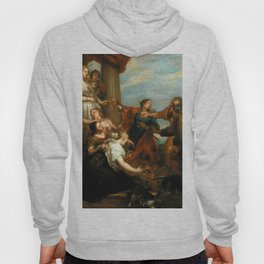"""Sir Anthony van Dyck """"Achilles among the daughters of Lycomedes"""" Hoody"""