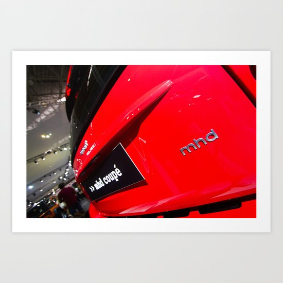 Smart Fortwo mhd Coupe Logo Art Print