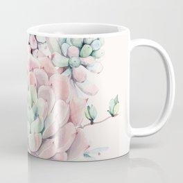 Perfect Pink Succulent Coffee Mug