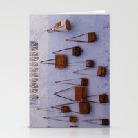 leather Stationery Cards featuring Leather by Marie von Hafften