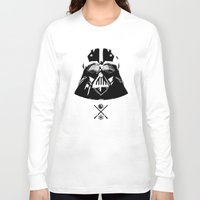 darth Long Sleeve T-shirts featuring Darth. by Glassy