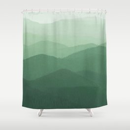 Hunter Mountain summer Shower Curtain