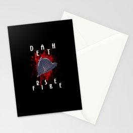 Sherlock Death Frisbee Stationery Cards