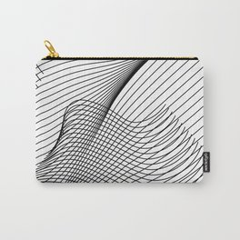 """""""Script Collection"""" - Minimal Letter Z Print Carry-All Pouch"""