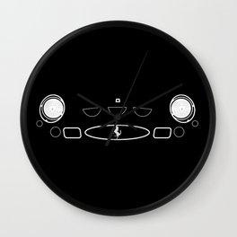 Cavalino 250GTO Grill Wall Clock