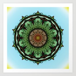 Fertile Earth Art Print